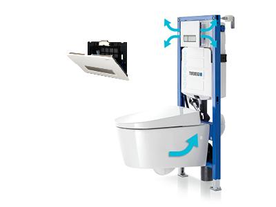 Inbouw Toilet Compleet : Toiletrenovatie
